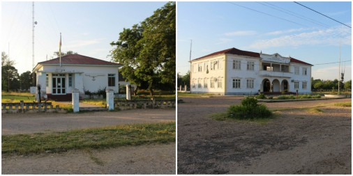 Some of the administrative buildings in Chinde