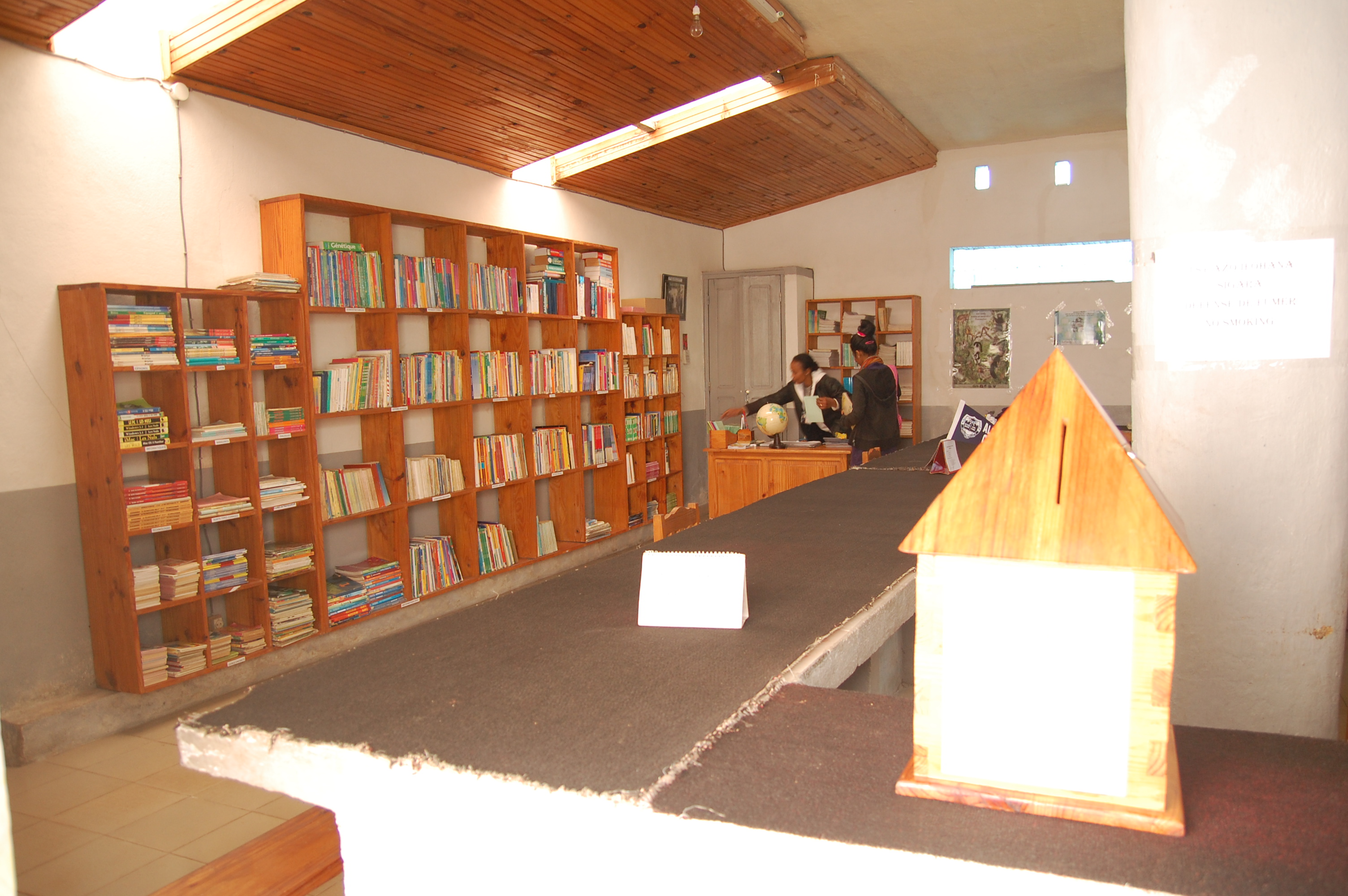 Library in Ranomafana