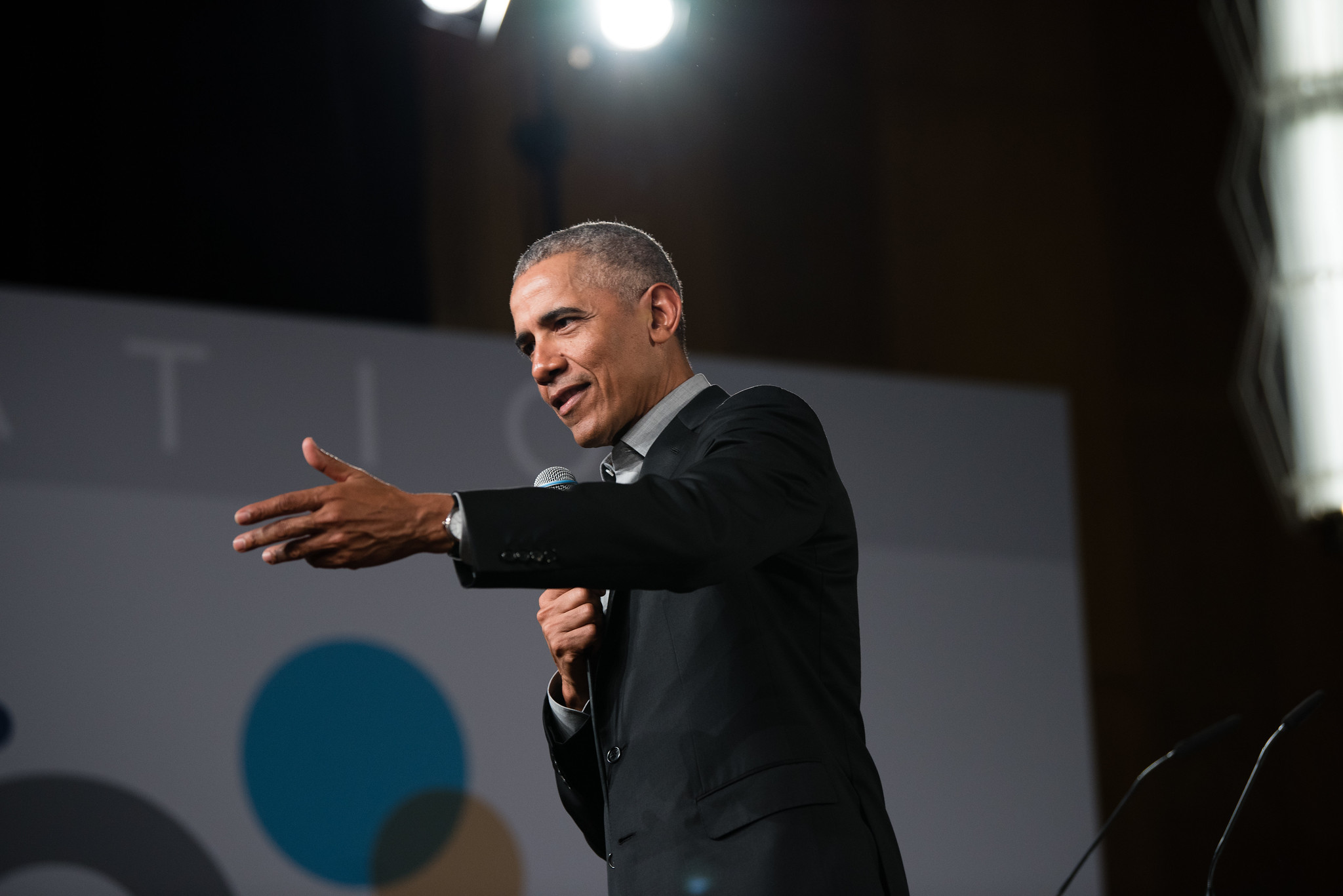 President Barack Obama at ESMT Berlin